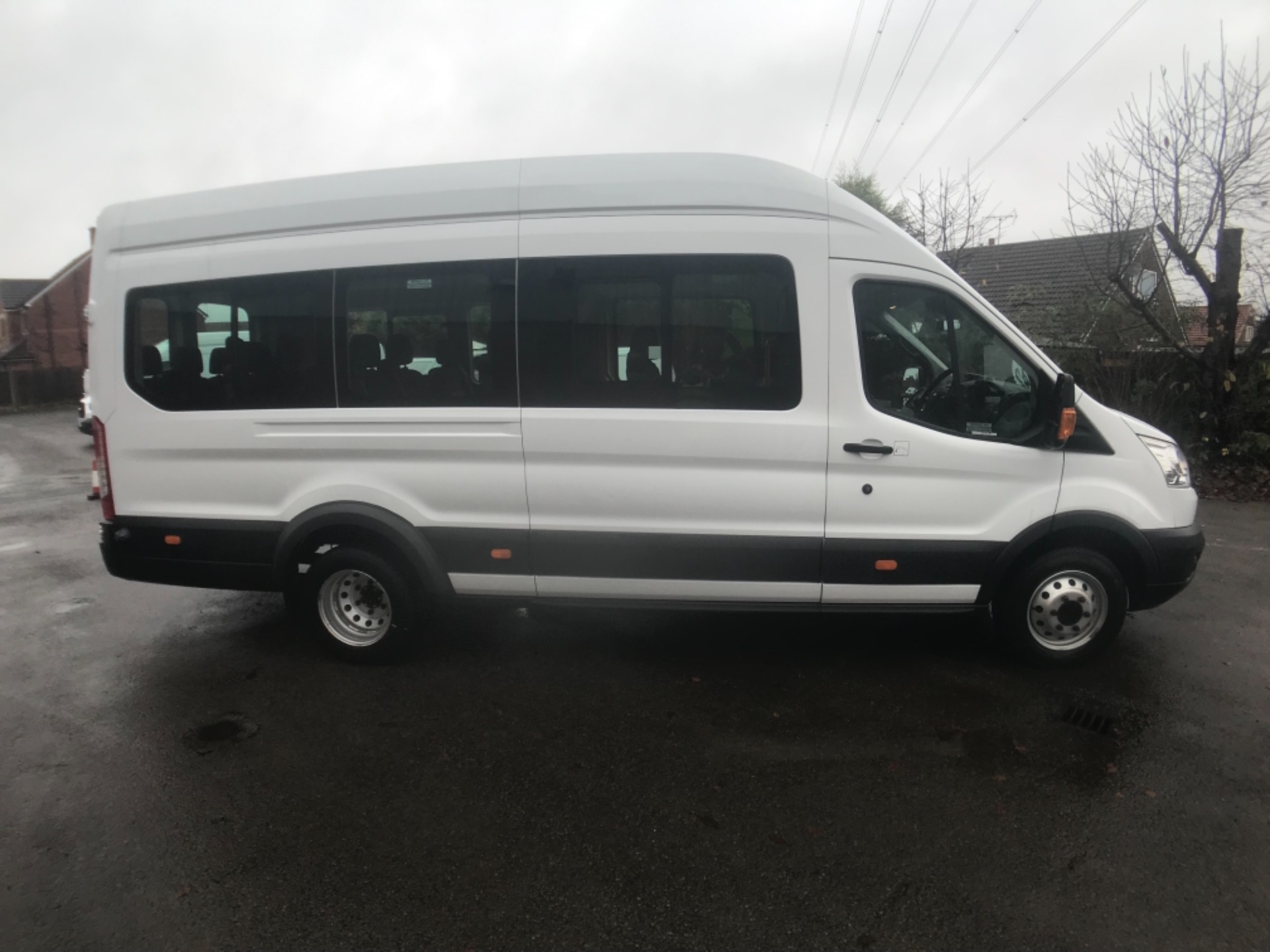 2016 Ford Transit T460 L4 H3 HIGH ROOF MINIBUS 125PS EURO 6 (FH65KCV) Thumbnail 5