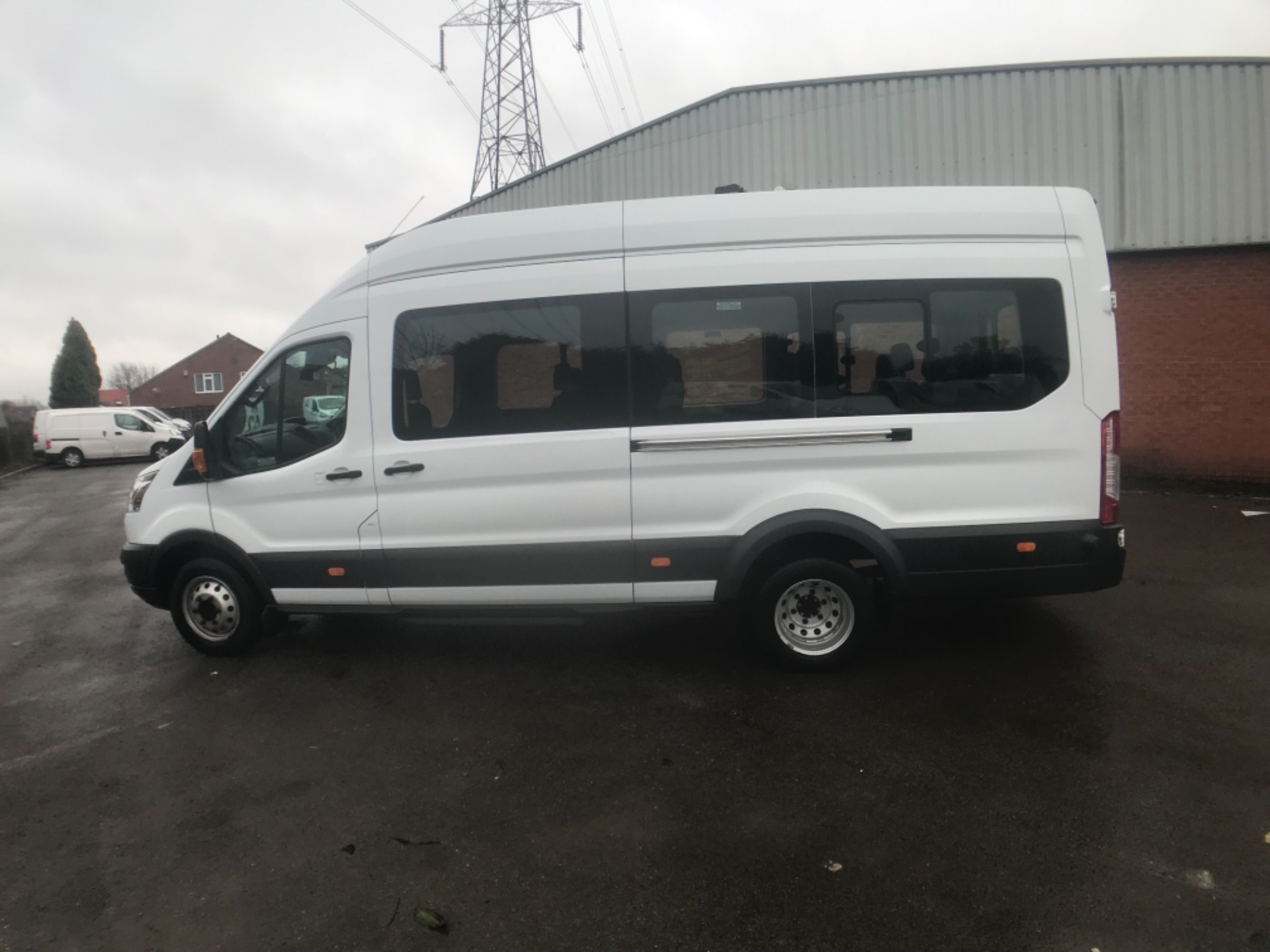 2016 Ford Transit T460 L4 H3 HIGH ROOF MINIBUS 125PS EURO 6 (FH65KCV) Thumbnail 8