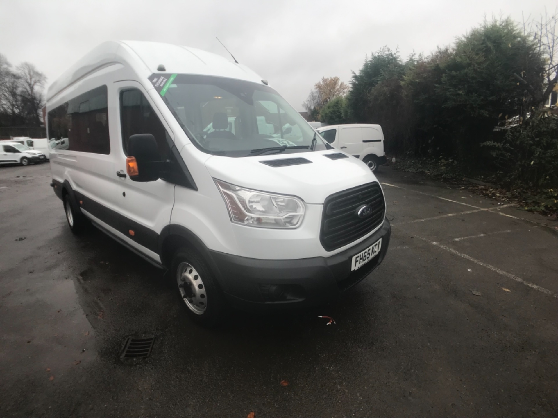 2016 Ford Transit T460 L4 H3 HIGH ROOF MINIBUS 125PS EURO 6 (FH65KCV) Thumbnail 1