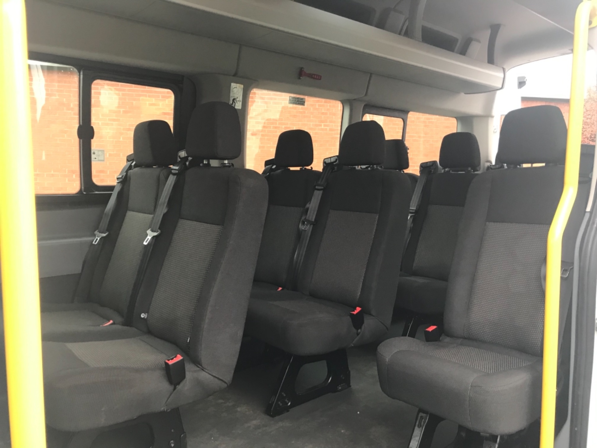 2016 Ford Transit T460 L4 H3 HIGH ROOF MINIBUS 125PS EURO 6 (FH65KCV) Thumbnail 9