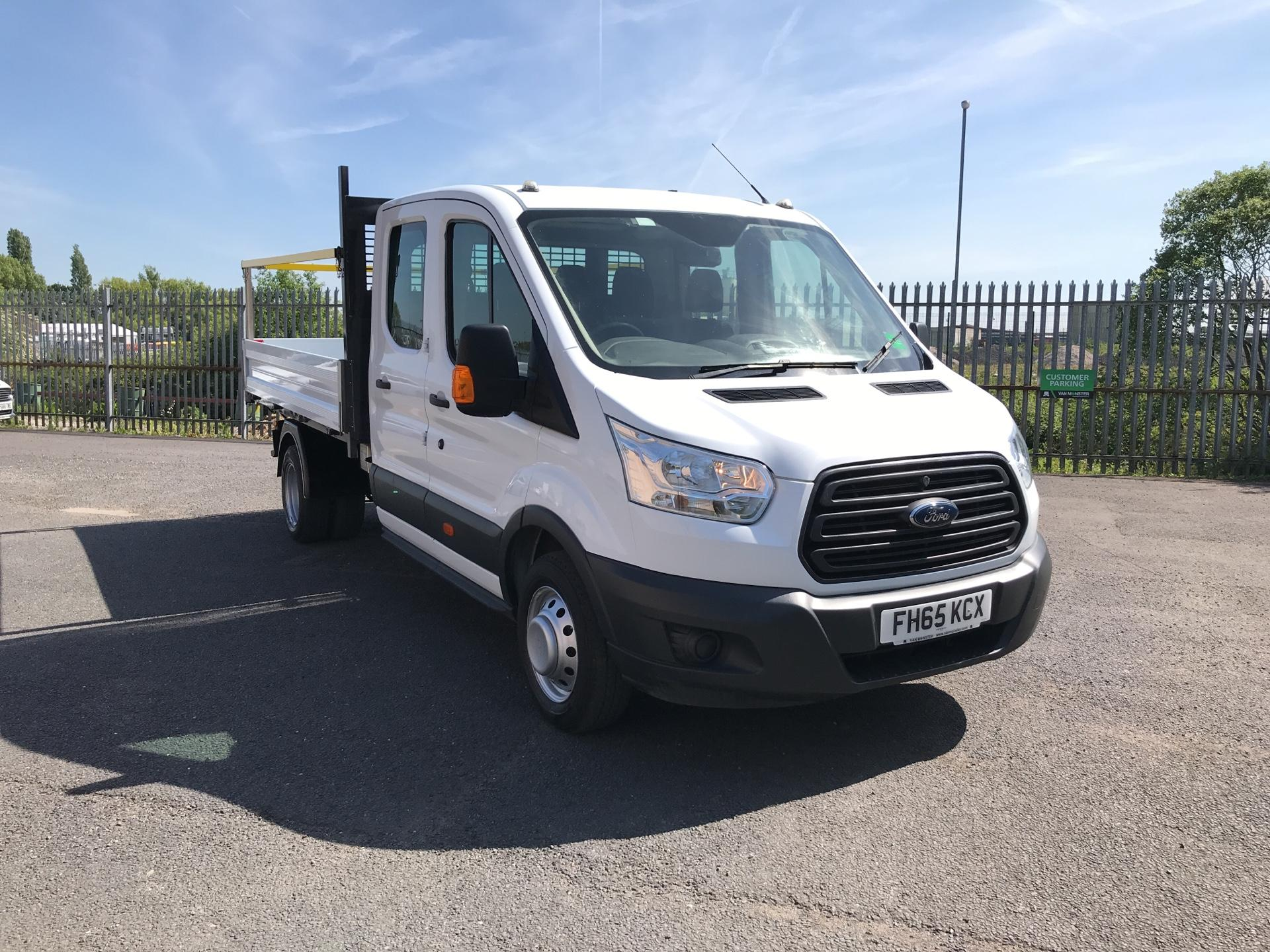 2016 Ford Transit T350 DOUBLE CAB TIPPER 125PS EURO 5 (FH65KCX)