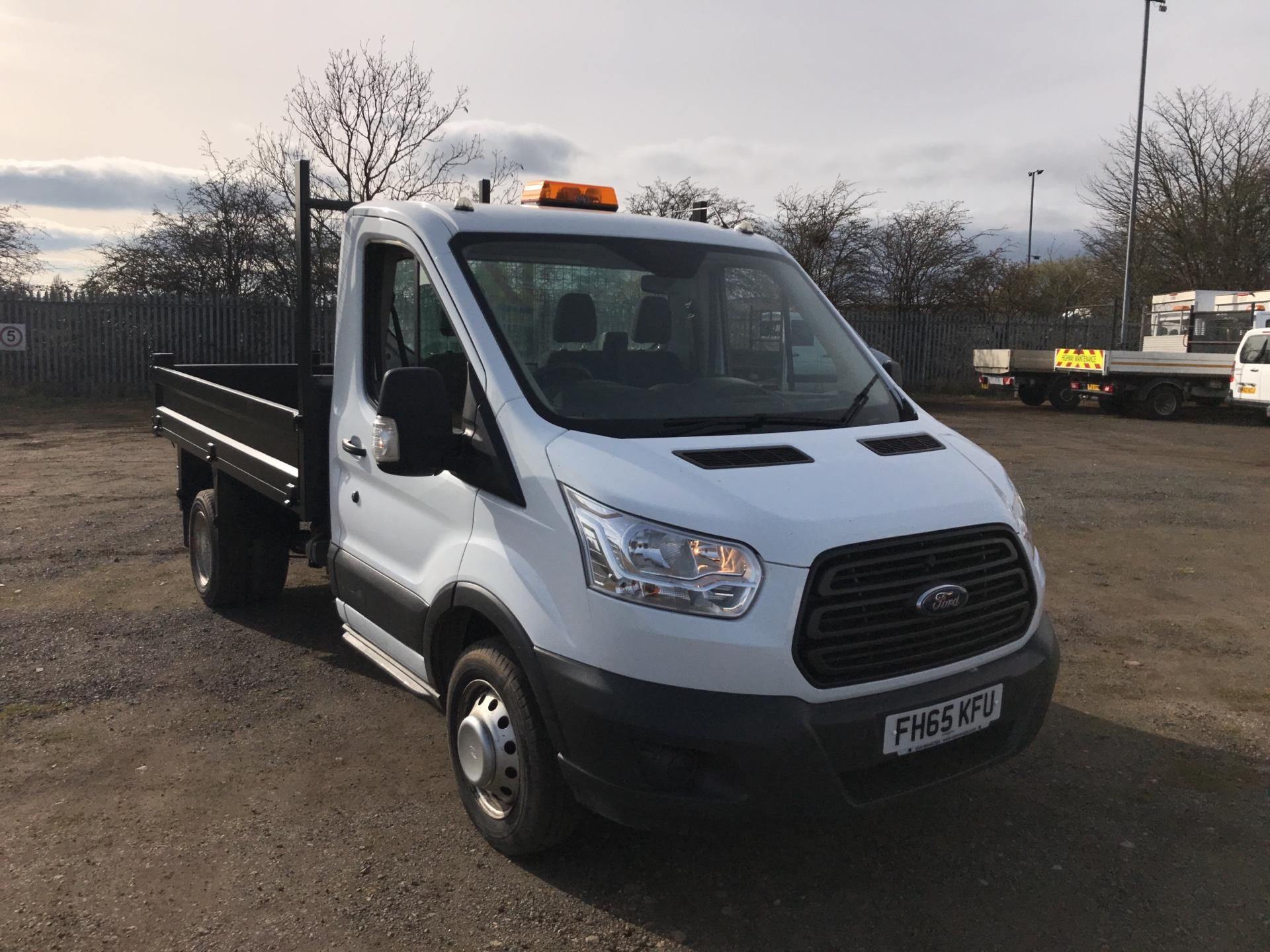 2016 Ford Transit 2.2 Tdci 125Ps Chassis Cab Tipper (FH65KFU)