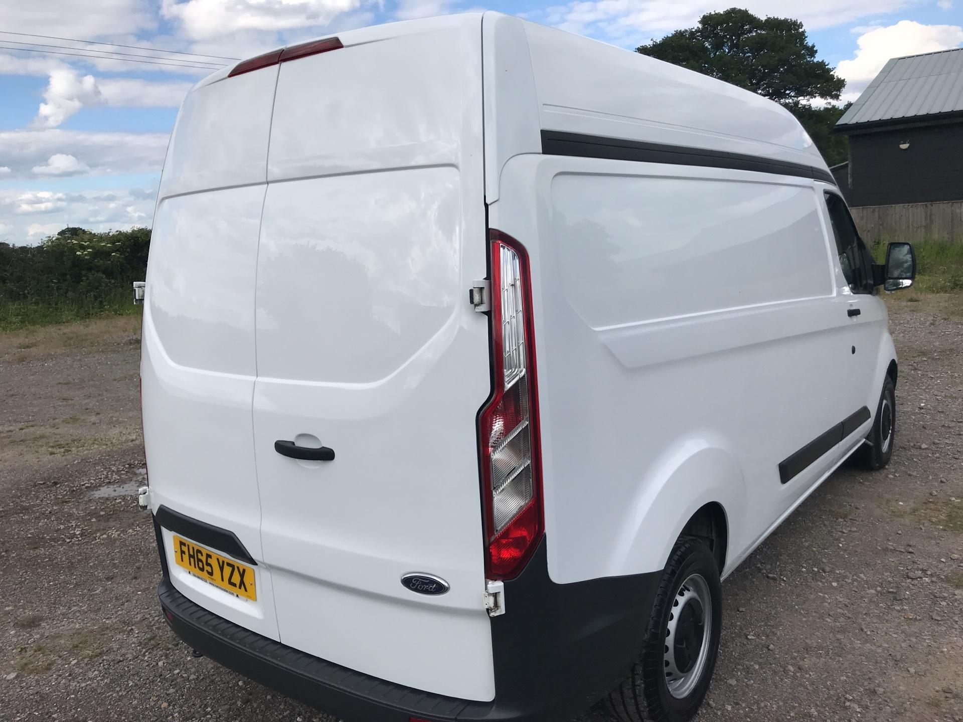 2015 Ford Transit Custom 290 L2 DIESEL FWD 2.2 TDCI 100PS HIGH ROOF VAN EURO 5 (FH65YZX) Image 4