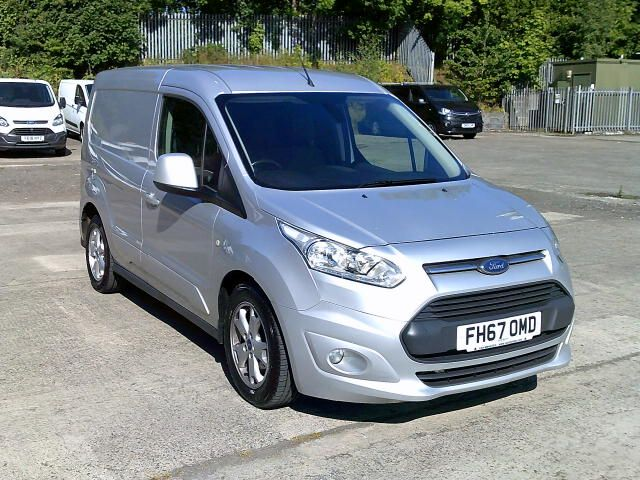 2017 Ford Transit Connect 200 1.5 Tdci 120Ps Limited Van (FH67OMD) Image 1