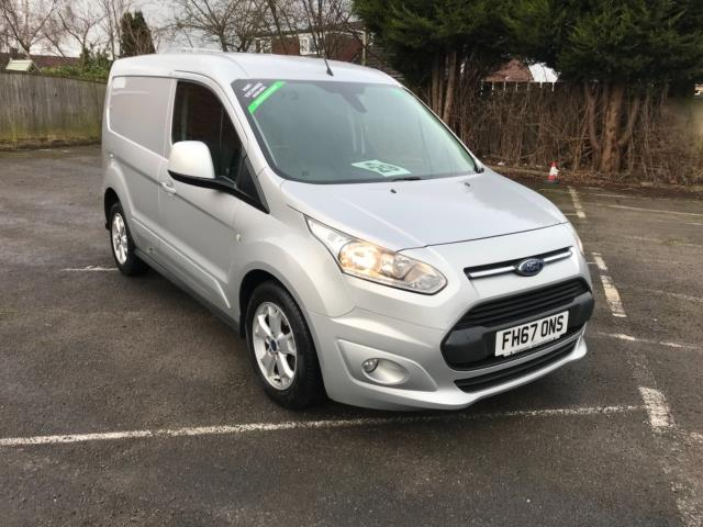 2017 Ford Transit Connect 1.5 Tdci 120Ps Limited Van (FH67ONS)