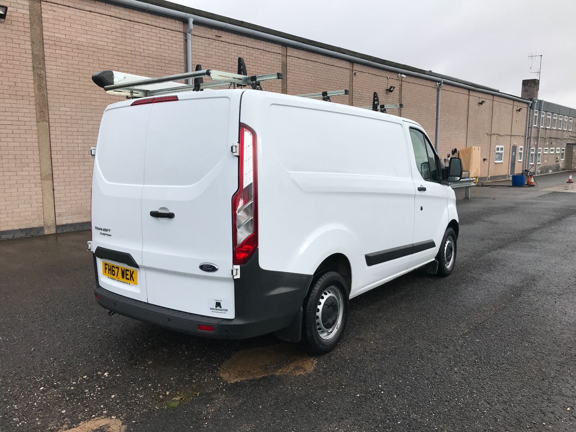 2018 Ford Transit Custom  290 L1 2.0TDCI 105PS LOW ROOF EURO 6 (FH67WEK) Image 3
