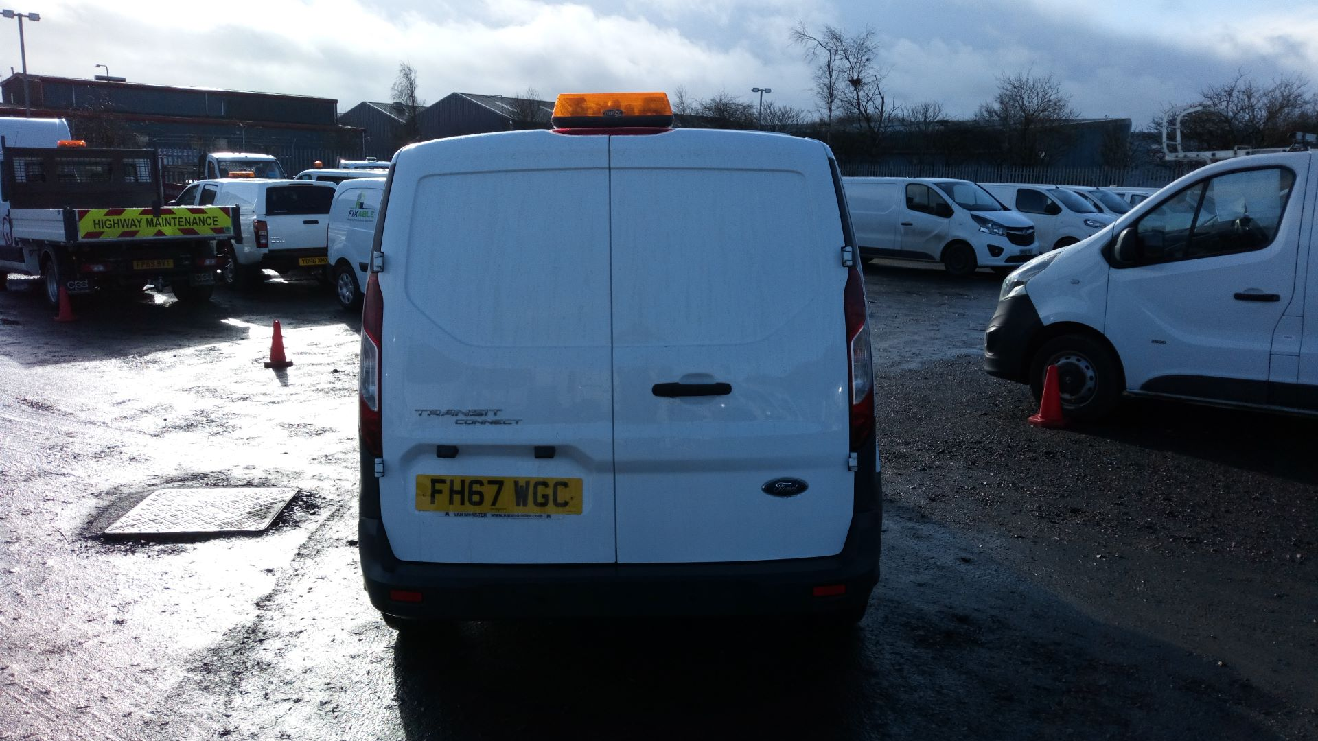 2018 Ford Transit Connect 1.5 Tdci 75Ps Van L1 (FH67WGC) Image 4