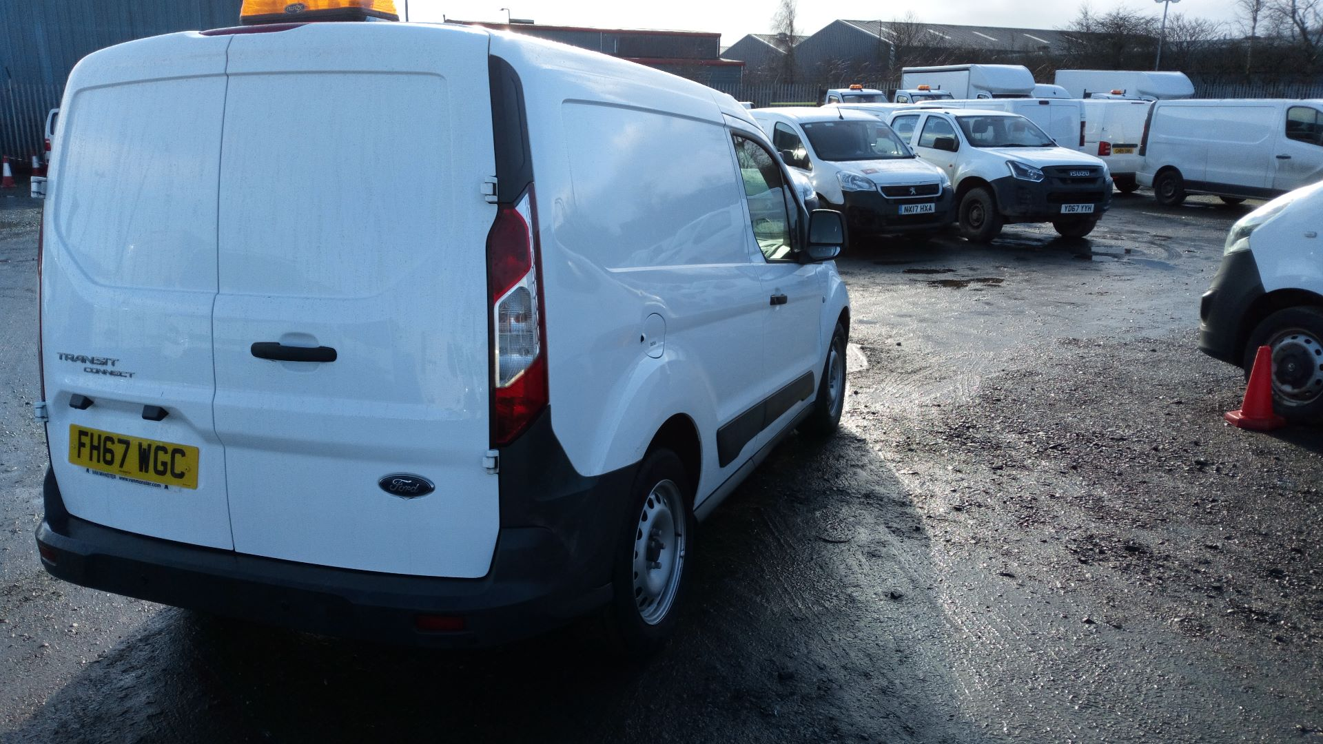 2018 Ford Transit Connect 1.5 Tdci 75Ps Van L1 (FH67WGC) Image 3