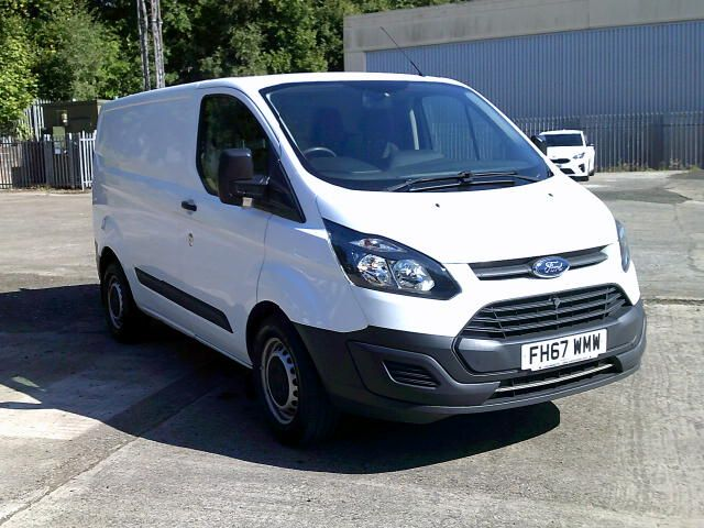 2018 Ford Transit Custom 340 2.0 Tdci 130Ps Low Roof Van (FH67WMW) Image 1