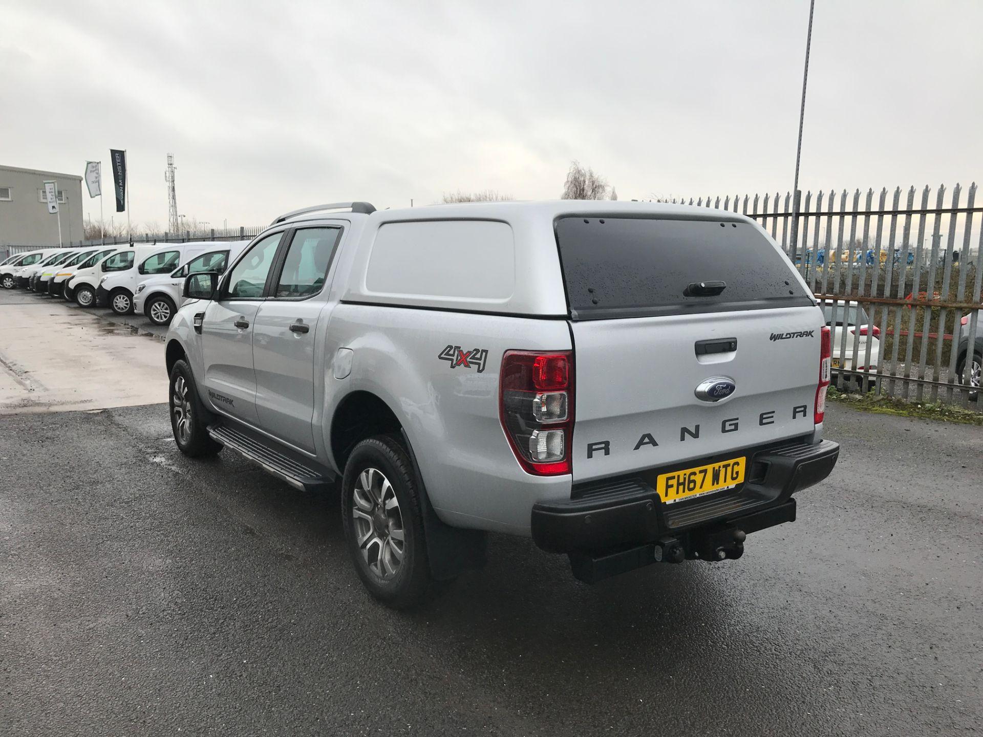 2018 Ford Ranger DOUBLE CAB 4X4 WILDTRAK 3.2TDI 200PS EURO 5 (FH67WTG) Image 9
