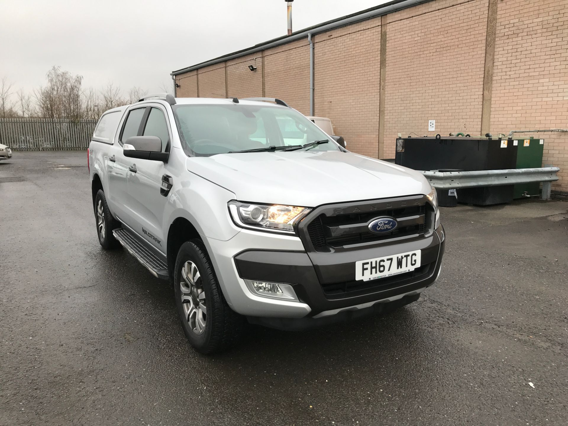 2018 Ford Ranger DOUBLE CAB 4X4 WILDTRAK 3.2TDI 200PS EURO 5 (FH67WTG)