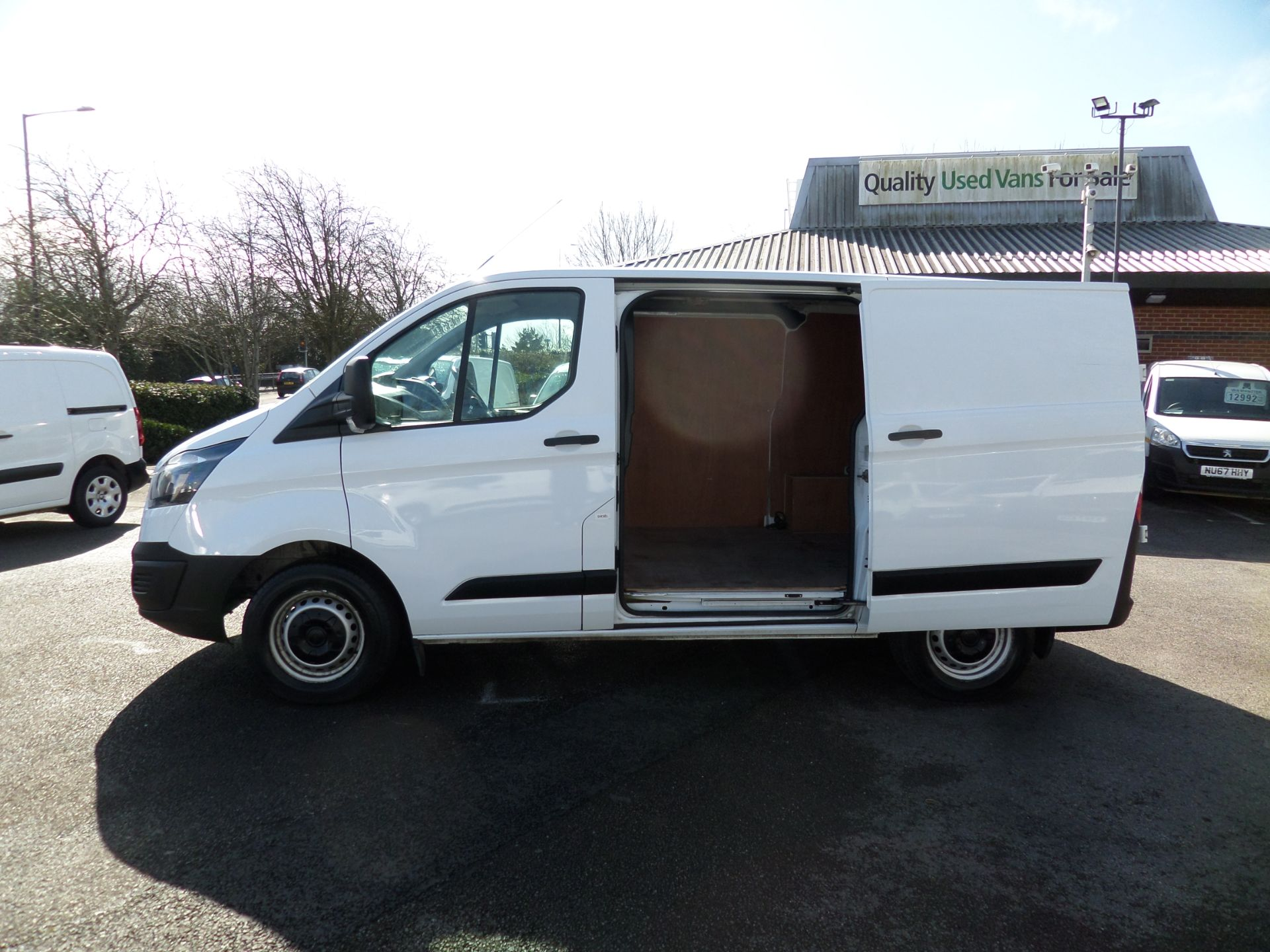 2018 Ford Transit Custom 2.0 Tdci 105Ps Low Roof Van Euro 6 (FH67WXF) Image 7
