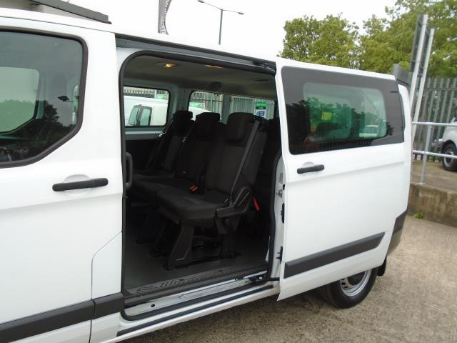 2015 Ford Transit Custom 2.2 Tdci 125Ps Low Roof Kombi Van 8 Seater With Air-Con Heated Seats (FL15XFM) Image 8