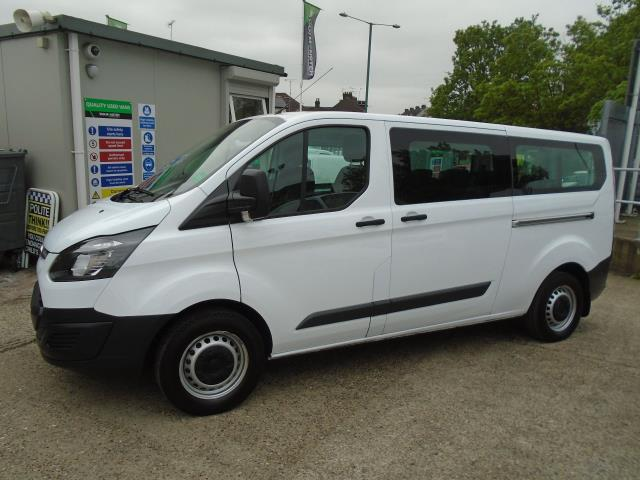 2015 Ford Transit Custom 2.2 Tdci 125Ps Low Roof Kombi Van 8 Seater With Air-Con Heated Seats (FL15XFM) Image 7