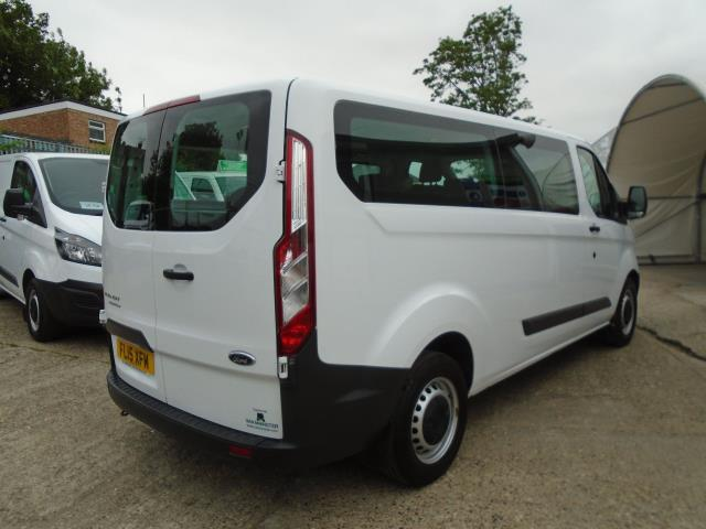2015 Ford Transit Custom 2.2 Tdci 125Ps Low Roof Kombi Van 8 Seater With Air-Con Heated Seats (FL15XFM) Image 6