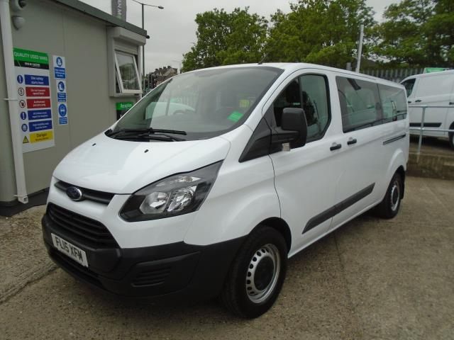 2015 Ford Transit Custom 2.2 Tdci 125Ps Low Roof Kombi Van 8 Seater With Air-Con Heated Seats (FL15XFM) Image 3