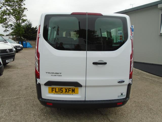 2015 Ford Transit Custom 2.2 Tdci 125Ps Low Roof Kombi Van 8 Seater With Air-Con Heated Seats (FL15XFM) Image 5