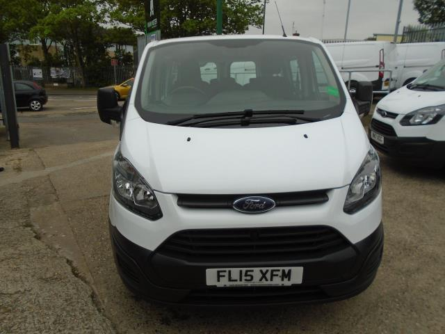 2015 Ford Transit Custom 2.2 Tdci 125Ps Low Roof Kombi Van 8 Seater With Air-Con Heated Seats (FL15XFM) Image 2