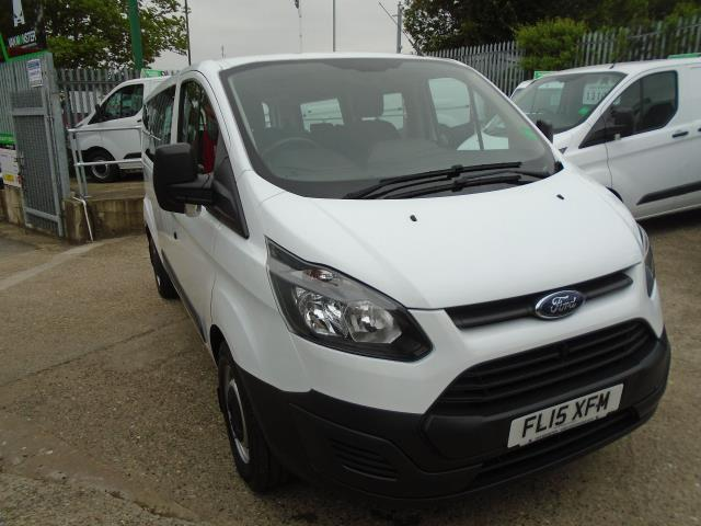 2015 Ford Transit Custom 2.2 Tdci 125Ps Low Roof Kombi Van 8 Seater With Air-Con Heated Seats