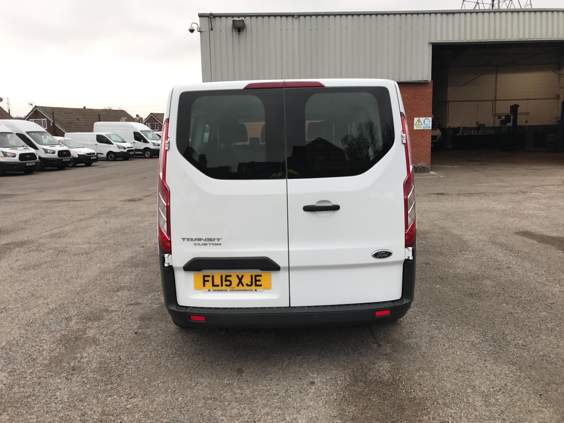2015 Ford Transit Custom 2.2 Tdci 125Ps Low Roof Kombi Van euro 5 - VALUE RANGE - CONDITION REFLECTED IN PRICE  (FL15XJE) Image 4