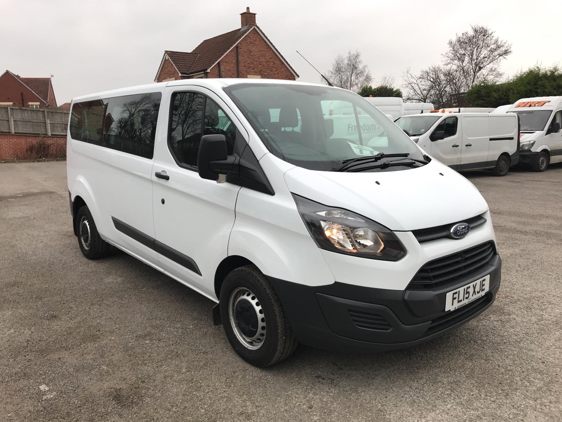 2015 Ford Transit Custom 2.2 Tdci 125Ps Low Roof Kombi Van euro 5 - VALUE RANGE - CONDITION REFLECTED IN PRICE  (FL15XJE)