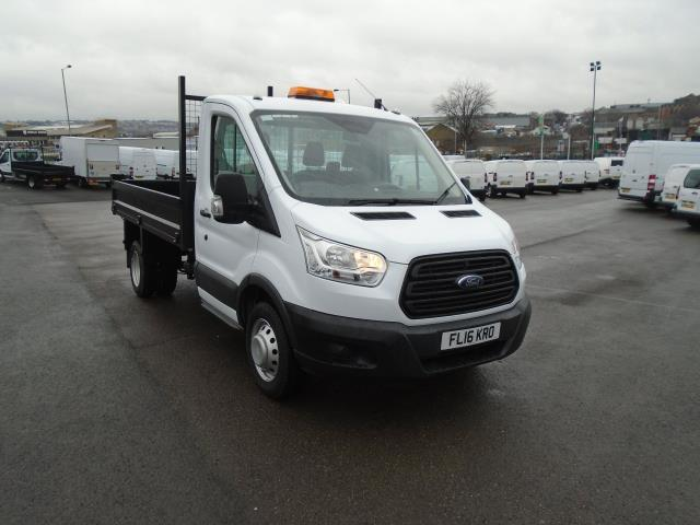 2016 Ford Transit 350 L2 SINGLE CAB TIPPER 125PS EURO 5 (FL16KRO)