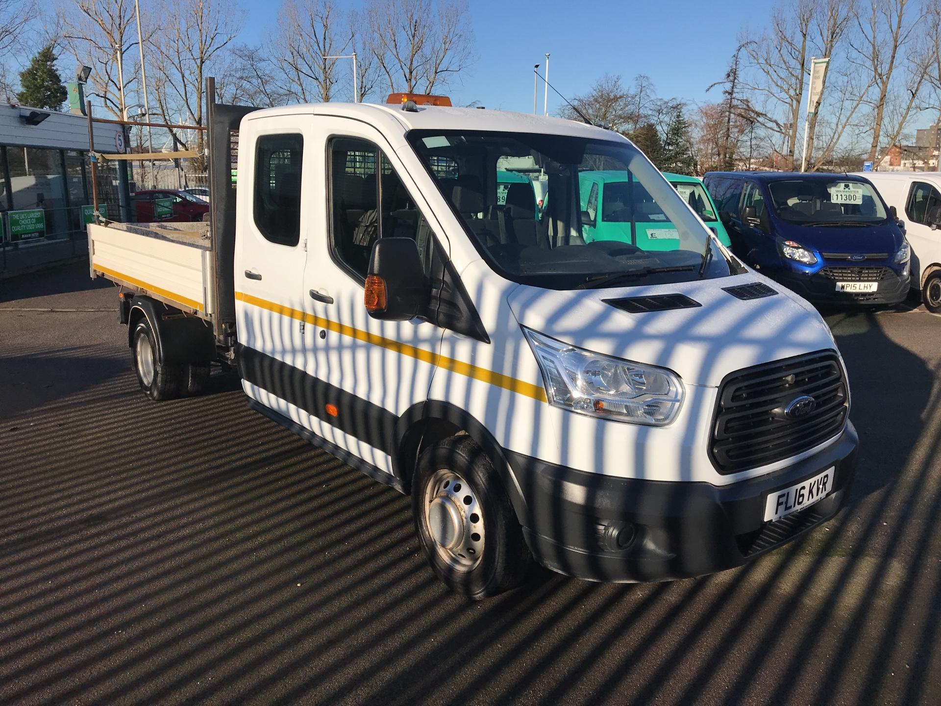 2016 Ford Transit 350 L3 DOUBLE CAB TIPPER 125PS EURO 5 *VALUE RANGE VEHICLE - CONDITION REFLECTED IN PRICE* (FL16KVR)