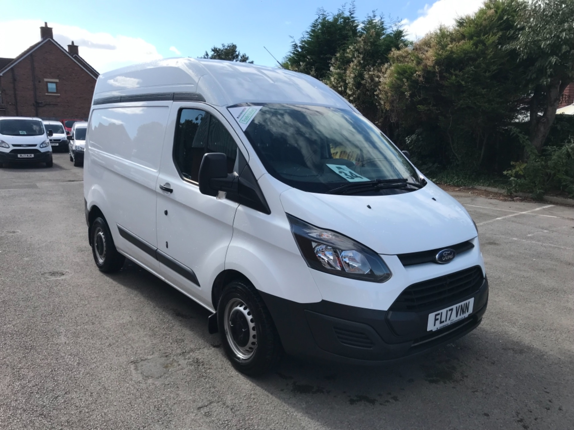 2017 Ford Transit Custom 2.0 Tdci 105Ps High Roof Van EURO 6 (FL17VNN)