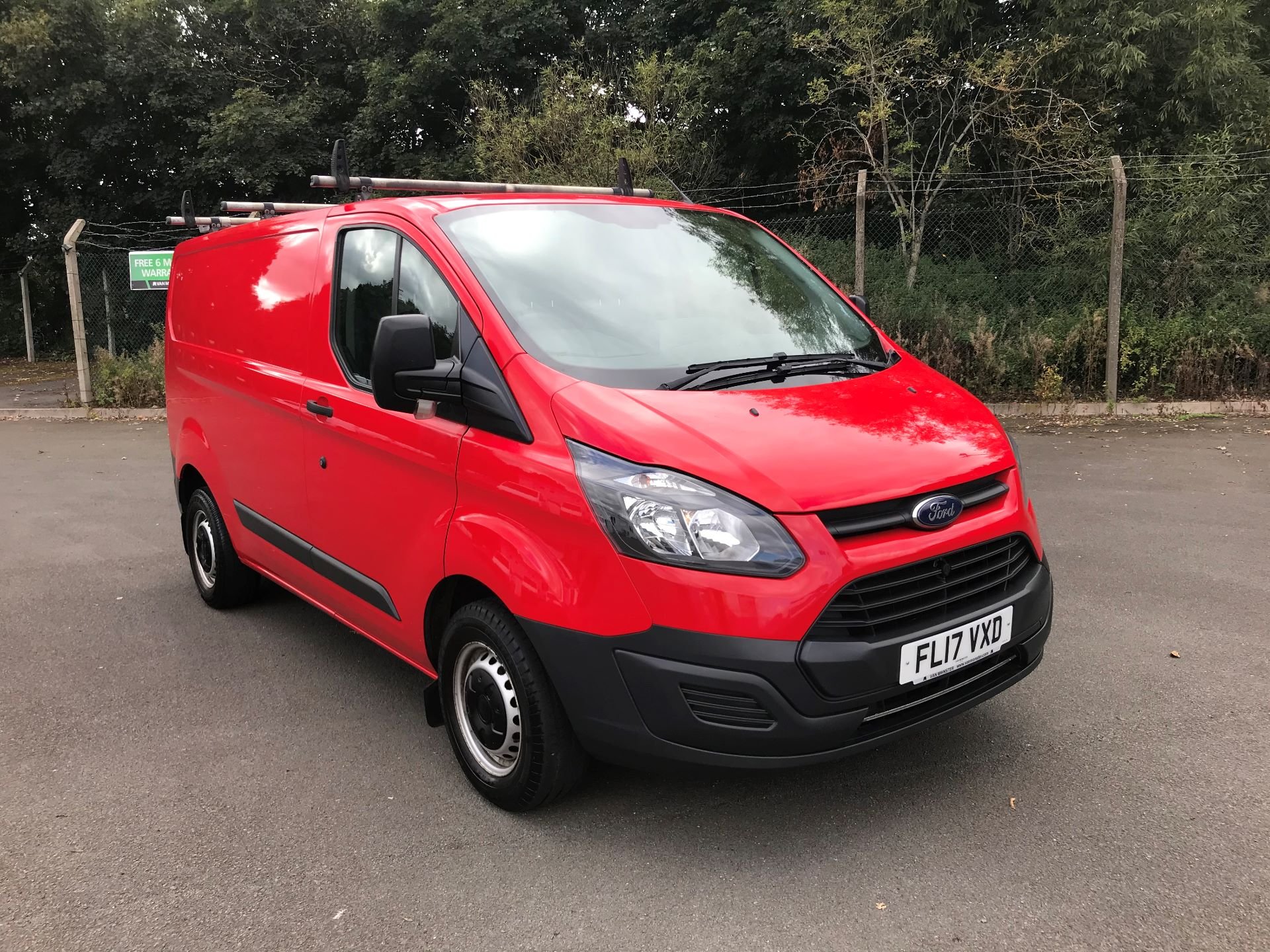 2017 Ford Transit Custom  290 L1 DIESEL FWD 2.0 TDCI 105PS LOW ROOF VAN EURO 6 (FL17VXD)