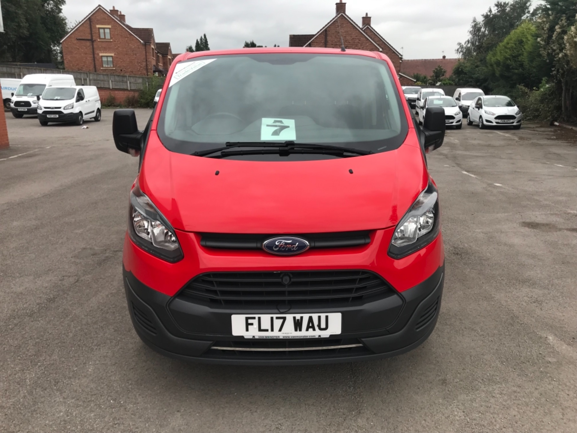 2017 Ford Transit Custom 2.0 Tdci 105Ps Low Roof Van EURO 6 (FL17WAU) Image 2