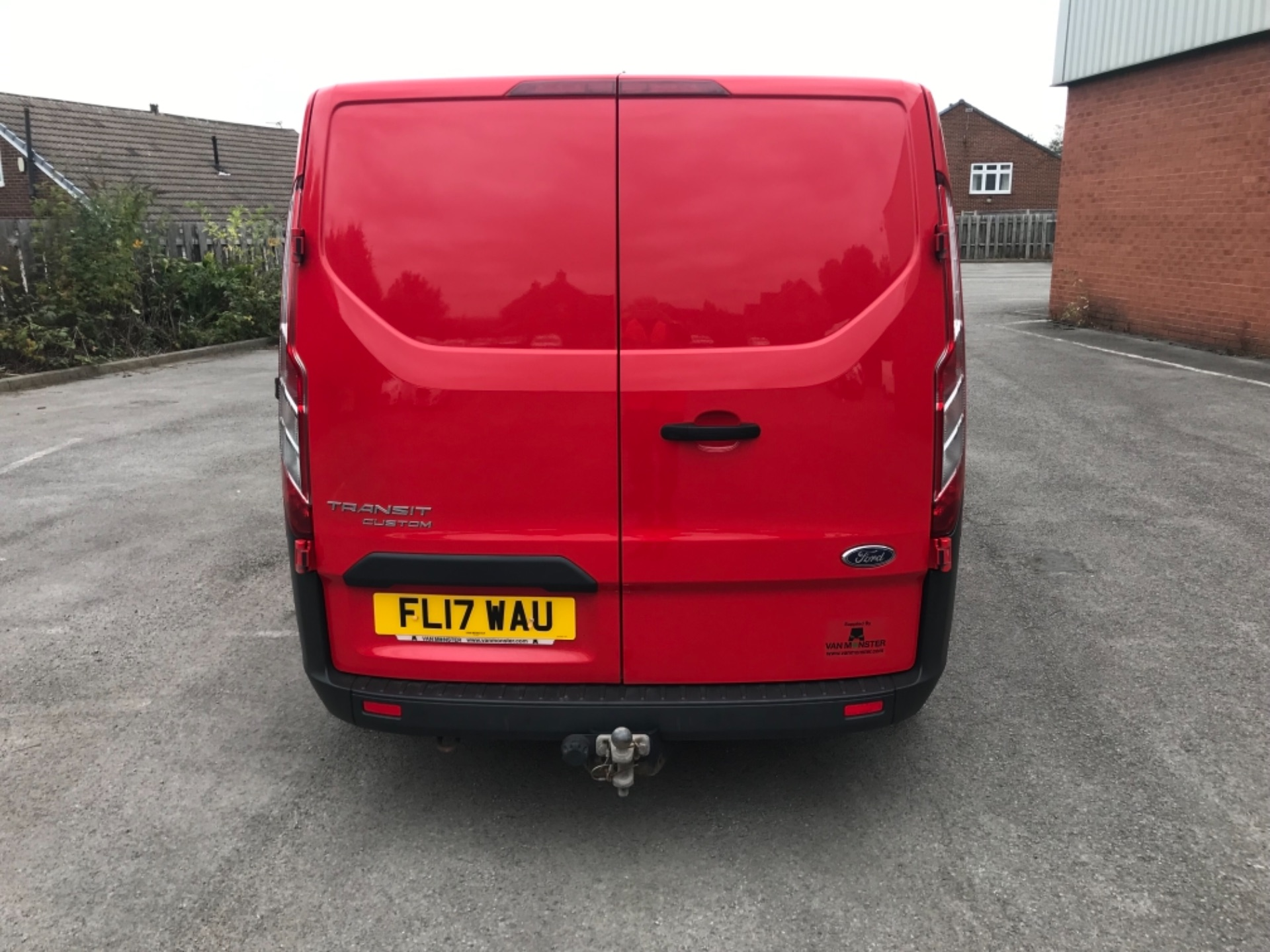 2017 Ford Transit Custom 2.0 Tdci 105Ps Low Roof Van EURO 6 (FL17WAU) Image 6
