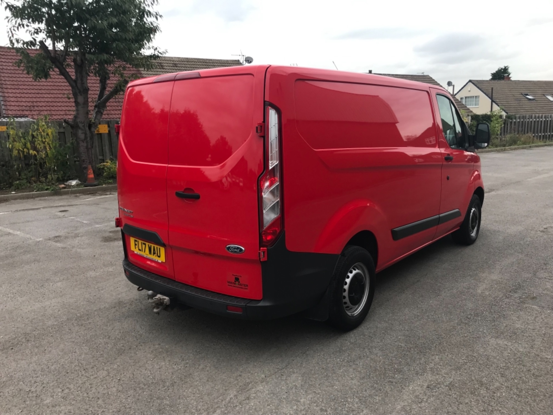 2017 Ford Transit Custom 2.0 Tdci 105Ps Low Roof Van EURO 6 (FL17WAU) Image 7
