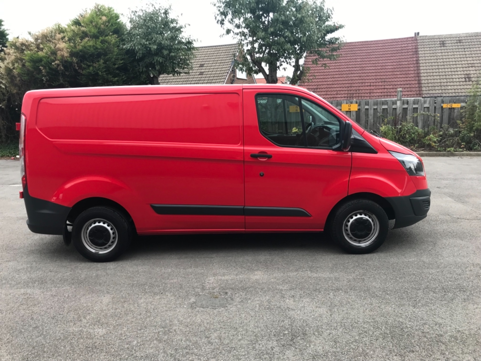 2017 Ford Transit Custom 2.0 Tdci 105Ps Low Roof Van EURO 6 (FL17WAU) Image 8