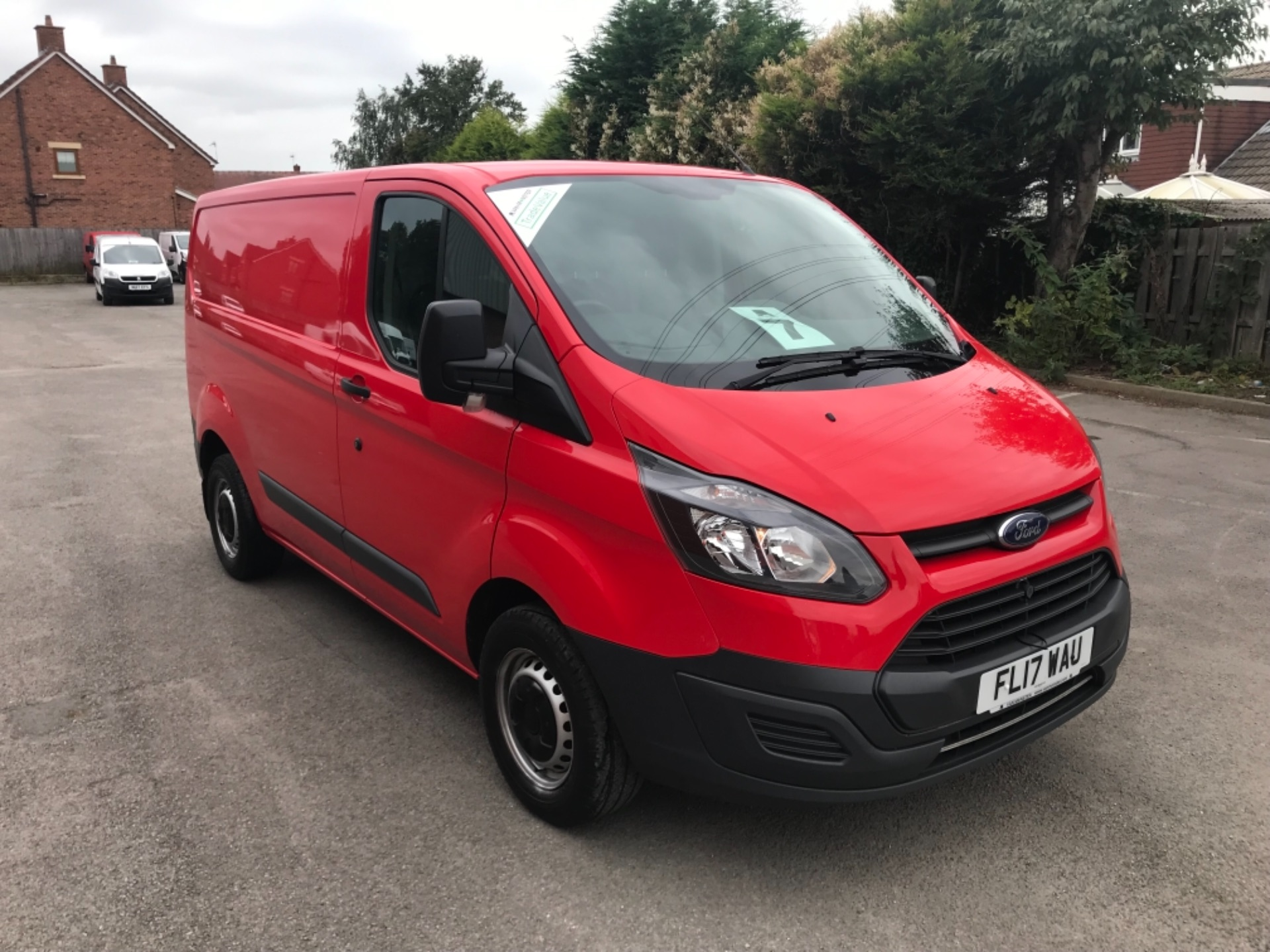 2017 Ford Transit Custom 2.0 Tdci 105Ps Low Roof Van EURO 6 (FL17WAU) Image 1
