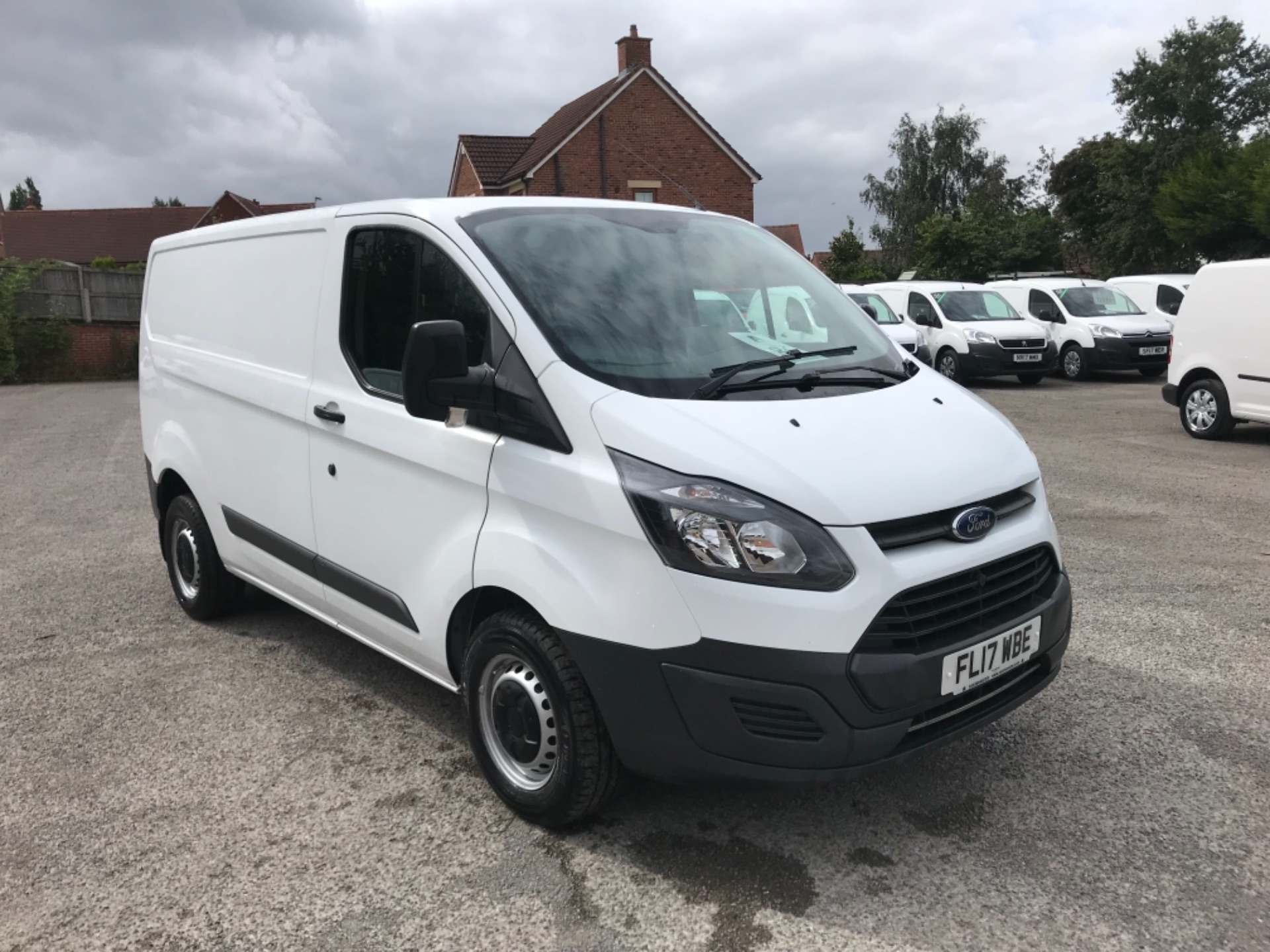 2017 Ford Transit Custom 2.0 Tdci 105Ps Low Roof Van EURO 6 (FL17WBE)