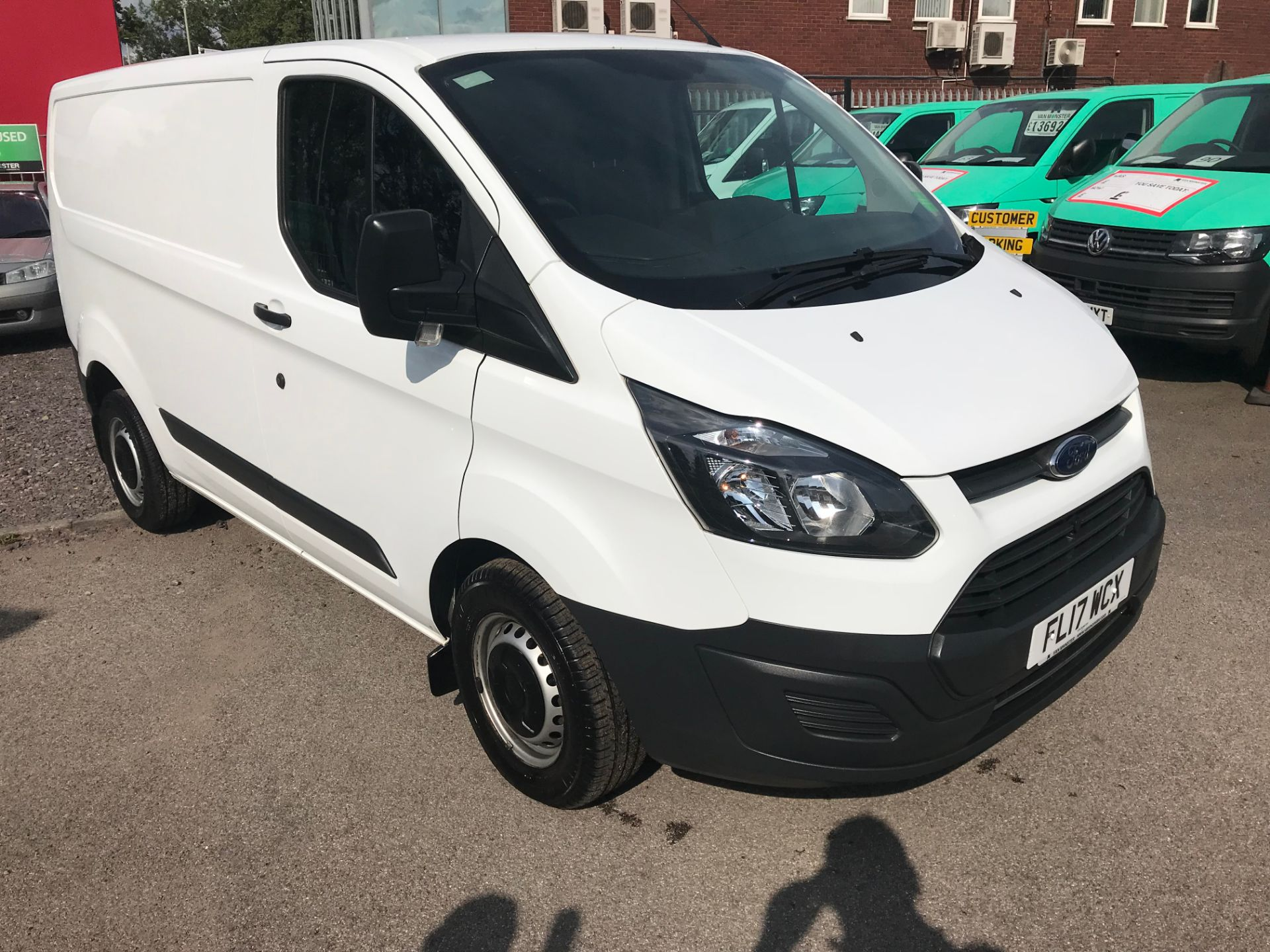 2017 Ford Transit Custom  290 L1 DIESEL FWD 2.0 TDCI 105PS LOW ROOF VAN EURO 6 (FL17WCX)