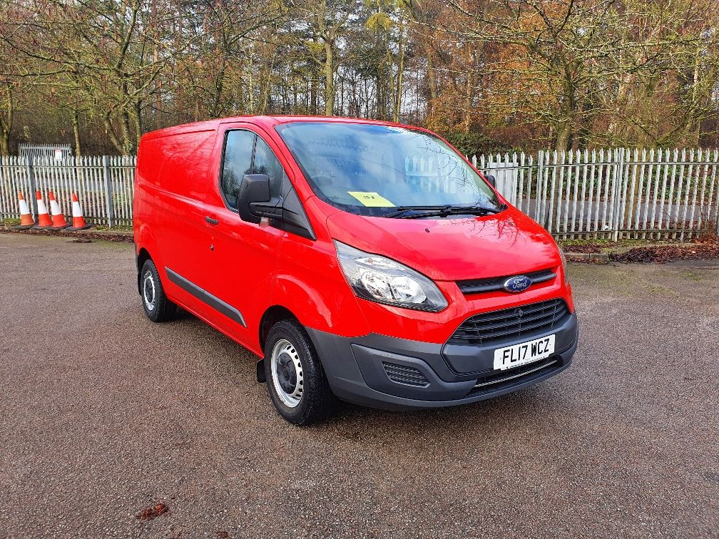 2017 Ford Transit Custom 2.0 Tdci 105Ps Low Roof Van (FL17WCZ)