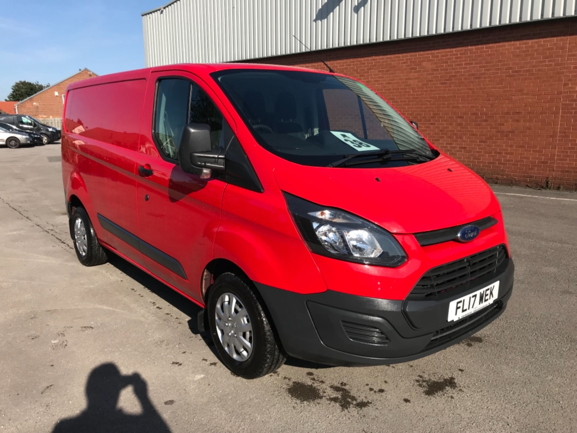 2017 Ford Transit Custom 2.0 Tdci 105Ps Low Roof Van EURO 6 (FL17WEK)