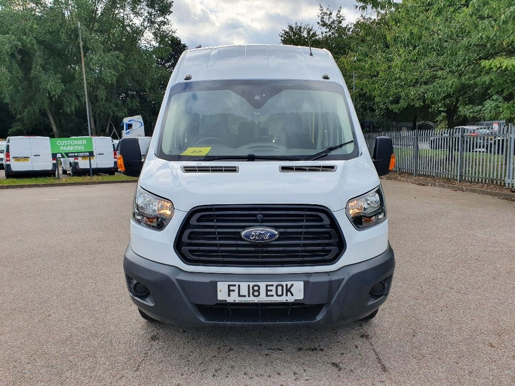 2018 Ford Transit 460 ECONETIC TECH 2.2 Tdci 125Ps H3 17 Seater (FL18EOK) Image 2
