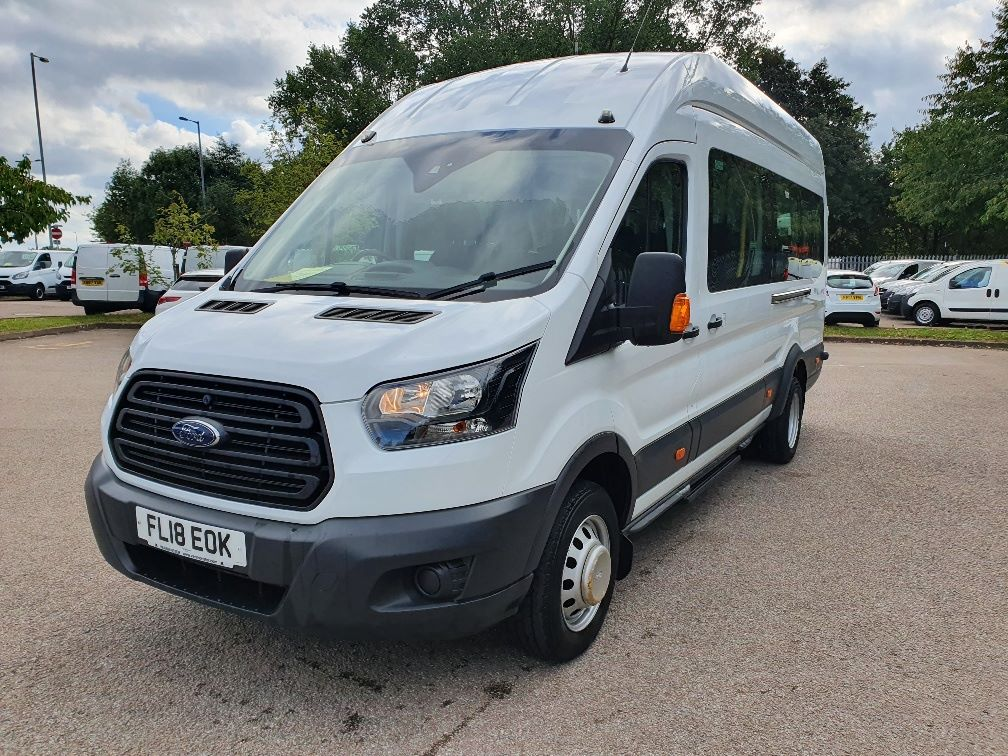 2018 Ford Transit 460 ECONETIC TECH 2.2 Tdci 125Ps H3 17 Seater (FL18EOK) Image 3