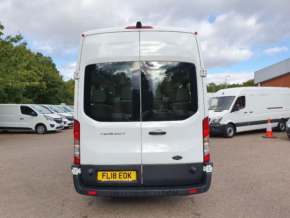 2018 Ford Transit 460 ECONETIC TECH 2.2 Tdci 125Ps H3 17 Seater (FL18EOK) Image 11