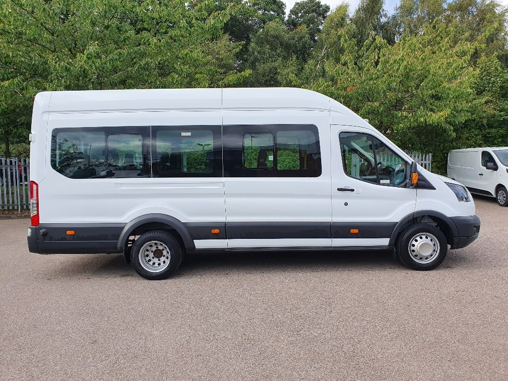 2018 Ford Transit 460 ECONETIC TECH 2.2 Tdci 125Ps H3 17 Seater (FL18EOK) Image 4