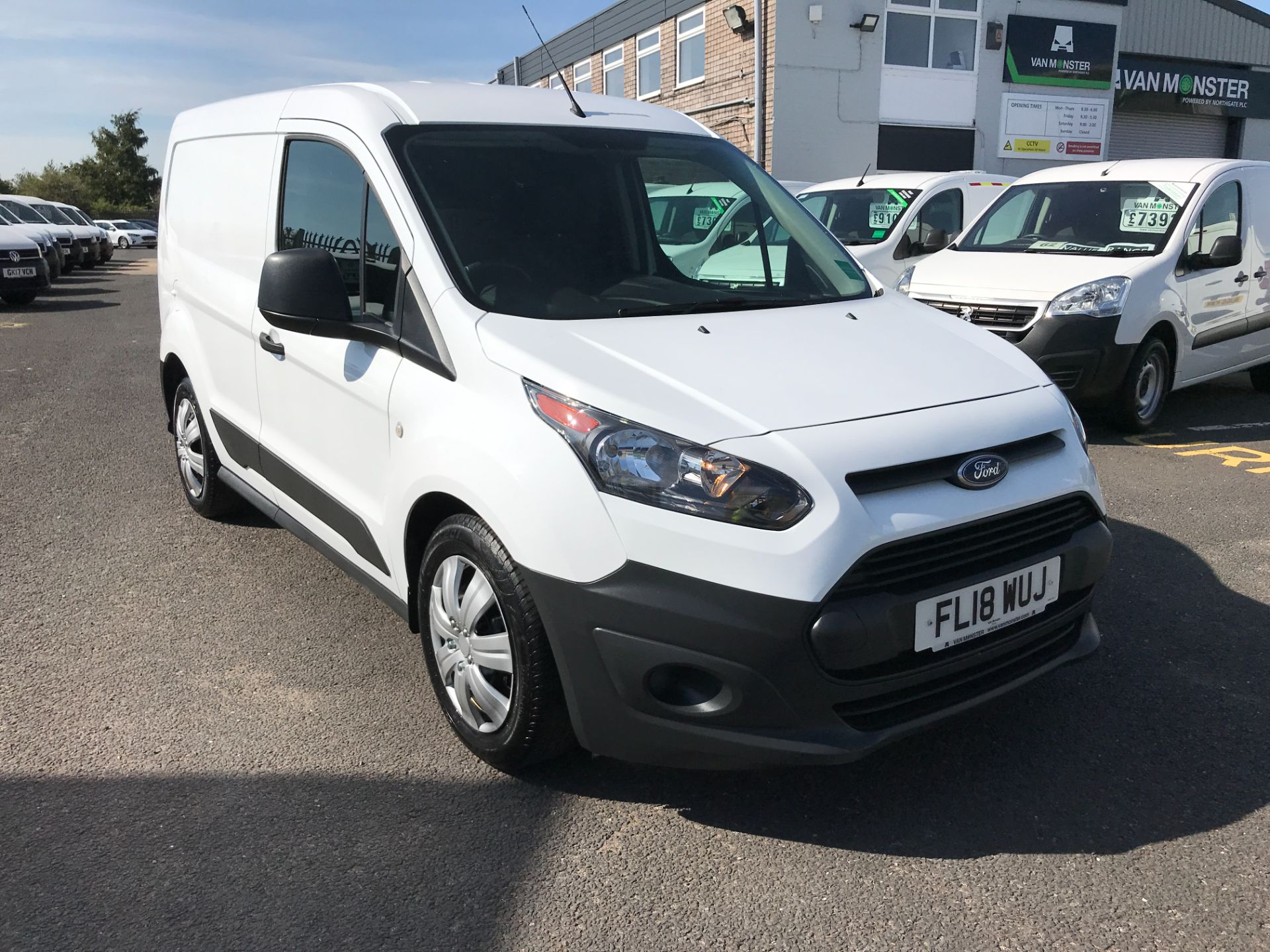 2018 Ford Transit Connect T200 L1 H1 1.5TDCI 75PS EURO 6 (FL18WUJ) Image 1
