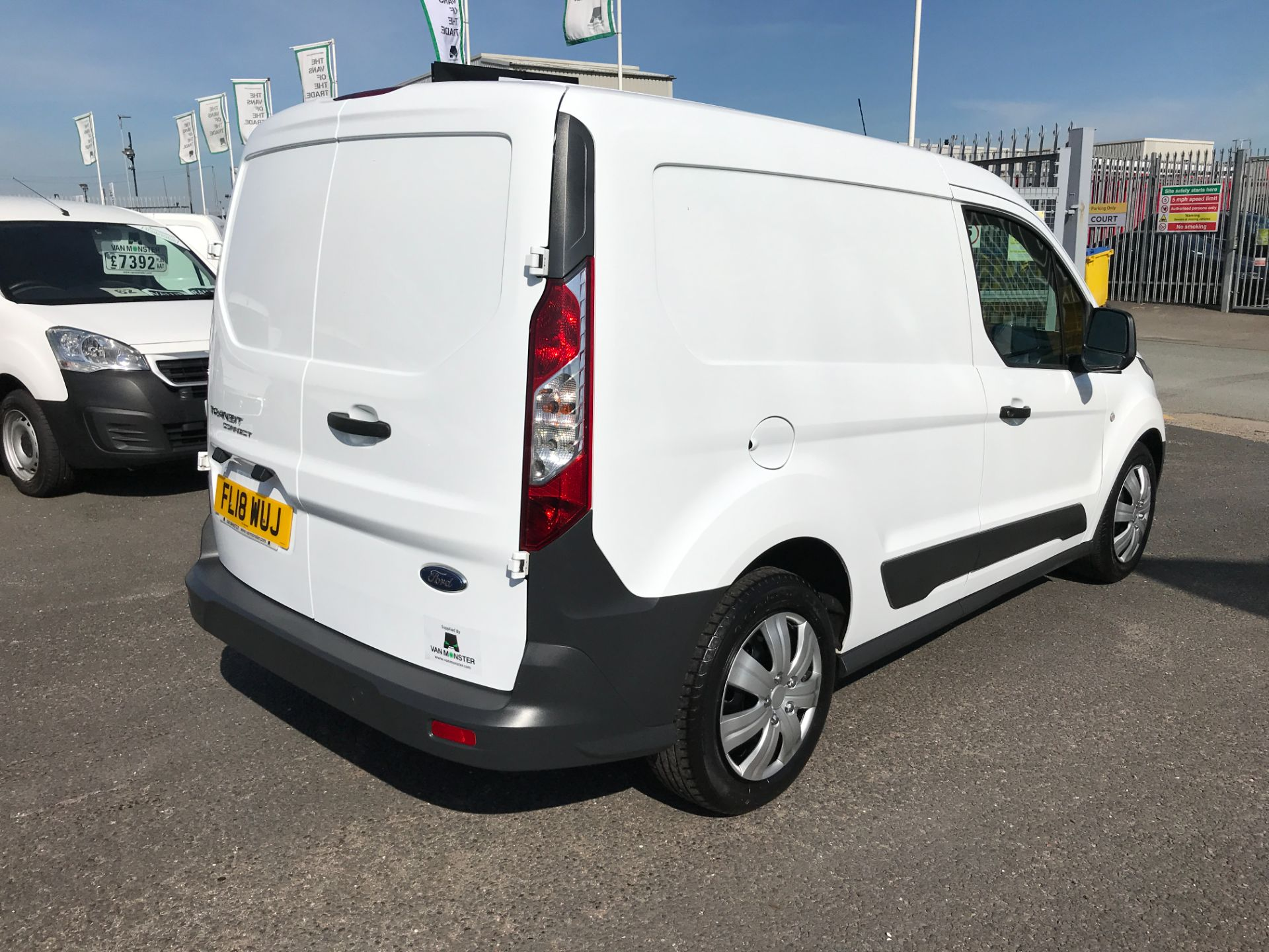 2018 Ford Transit Connect T200 L1 H1 1.5TDCI 75PS EURO 6 (FL18WUJ) Image 8