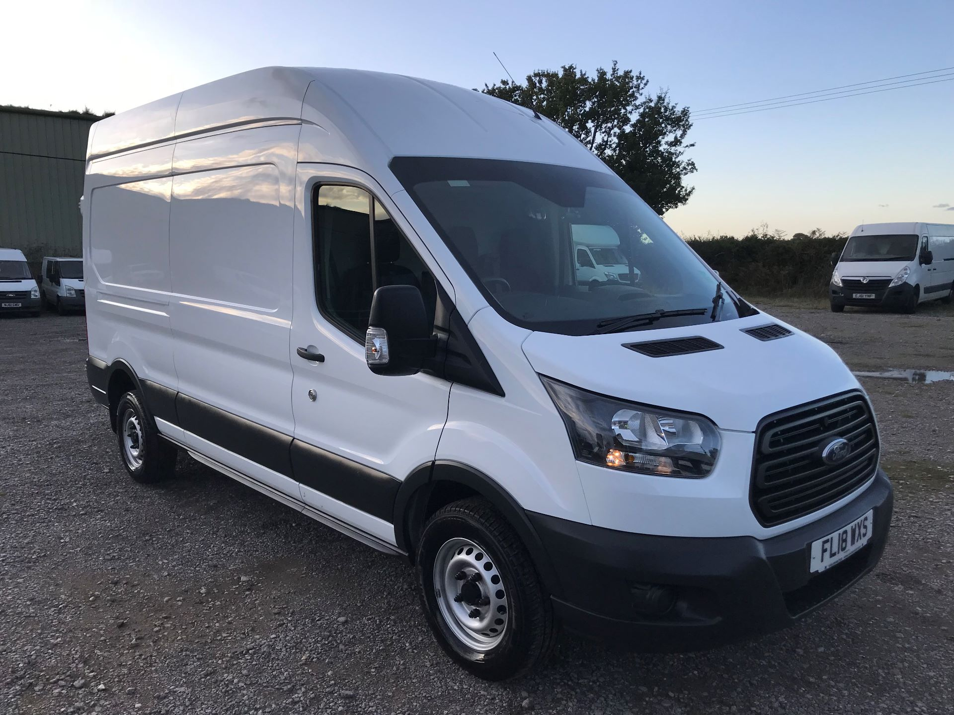 2018 Ford Transit L3 H3 VAN 130PS EURO 6 (FL18WXS)