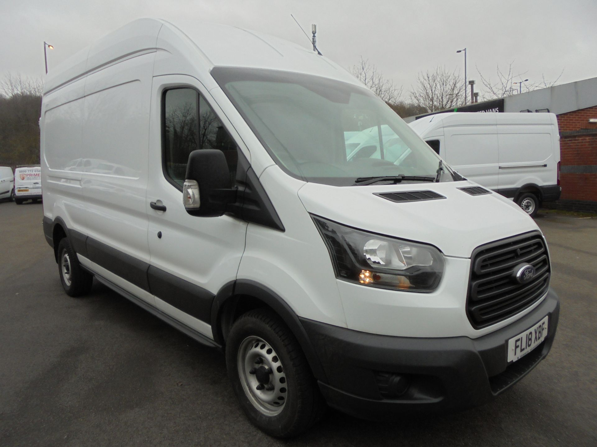 2018 Ford Transit 2.0 Tdci 130Ps H3 Van (FL18XBF)