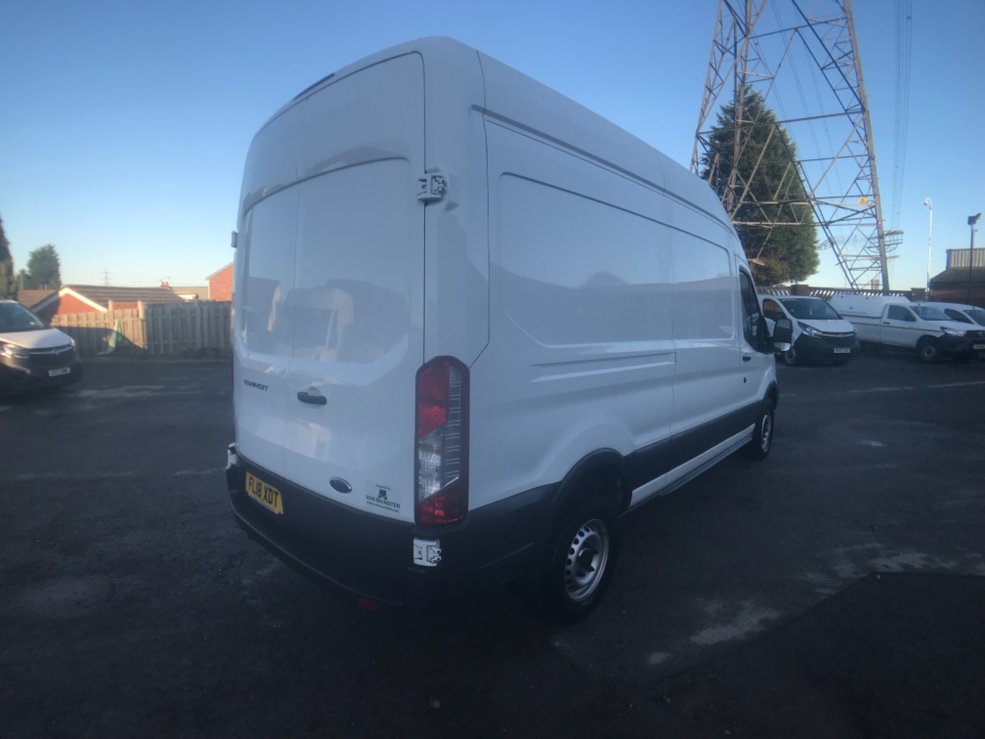 2018 Ford Transit 350  L3 H3 VAN 130PS EURO 6 (FL18XDT) Image 5