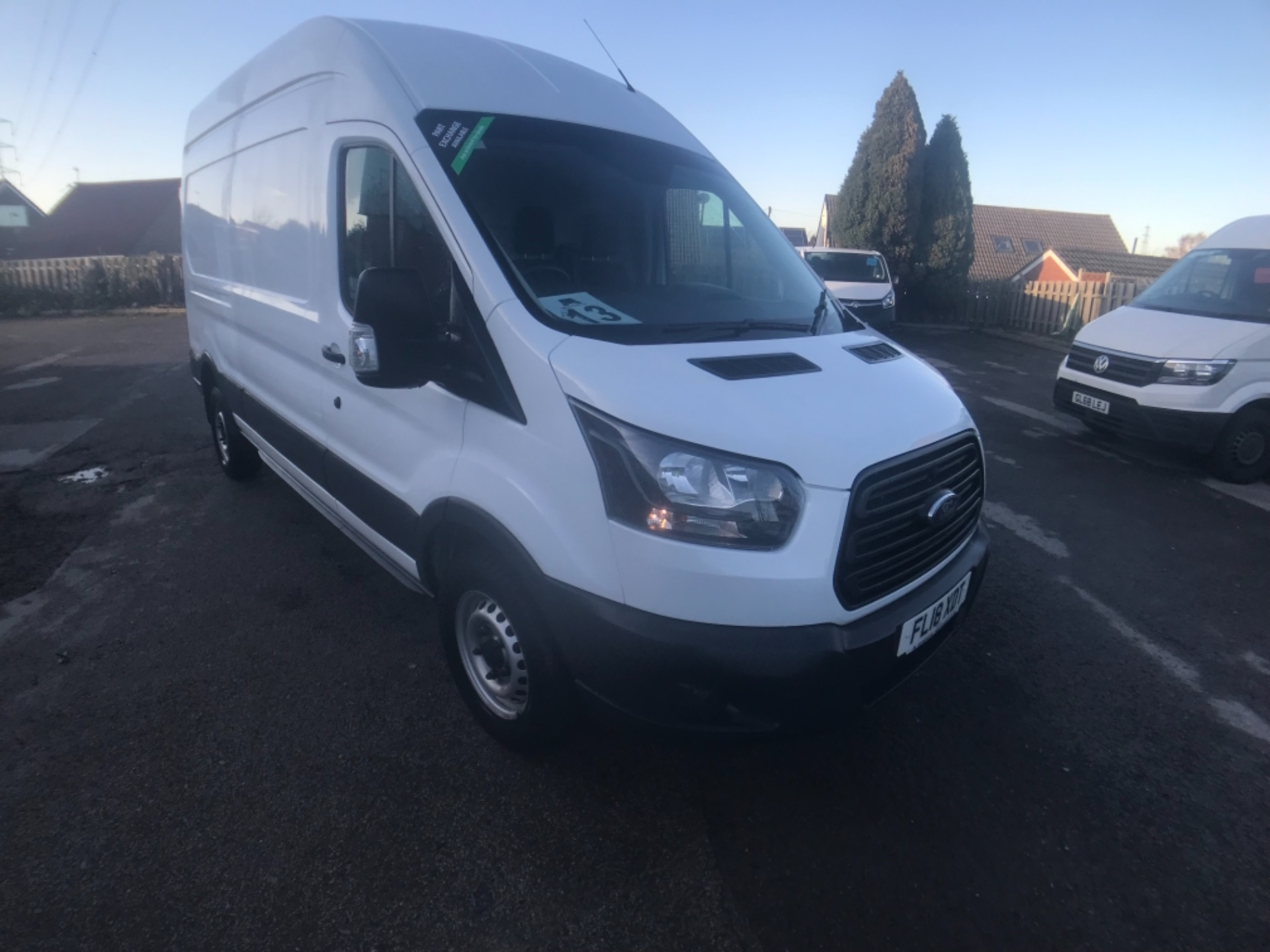 2018 Ford Transit 350  L3 H3 VAN 130PS EURO 6 (FL18XDT)