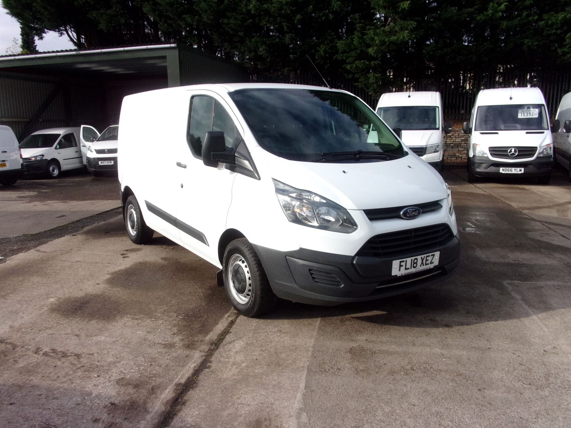 2018 Ford Transit Custom 290 L1 DIESEL FWD 2.0 TDCI 105PS LOW ROOF VAN EURO 6 (FL18XEZ)