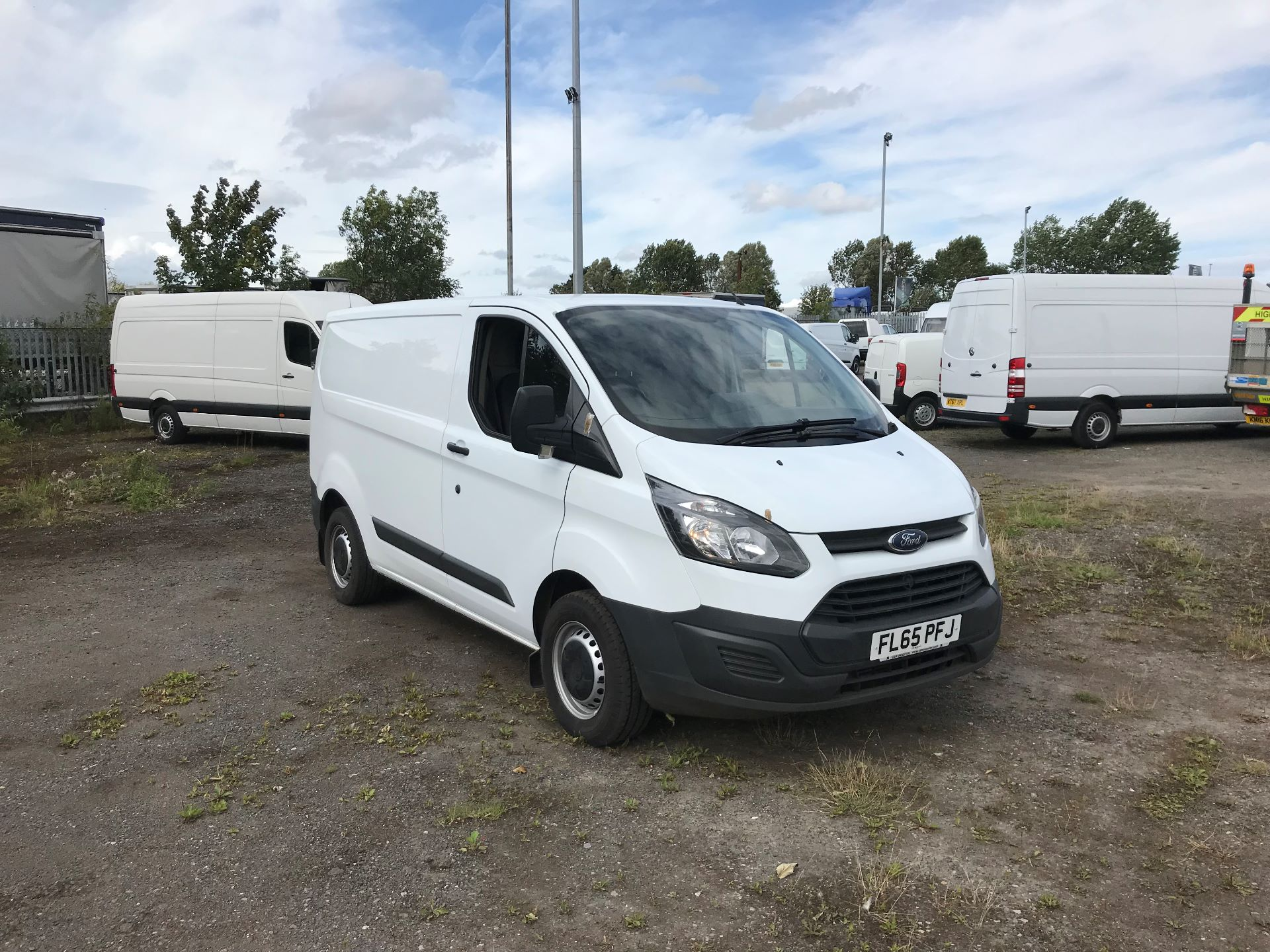 2015 Ford Transit Custom 290 L1 DIESEL FWD 2.2  TDCI 100PS LOW ROOF VAN EURO 5 (FL65PFJ)